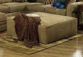 Oversized Ottoman In Desert Chenille Fabric By Jackson Furniture