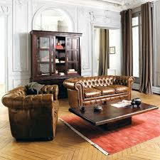 canap chesterfield 3 places canapé chesterfield 3 places en cuir capitonné chesterfield study