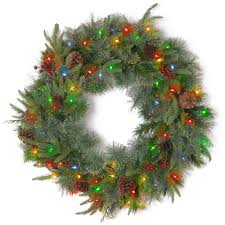 home lighting 33 battery operated wreath lights battery operated