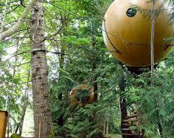 spherical tree houses