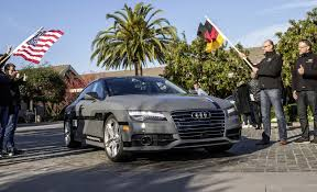 audi a7 self driving autonomous audi a7 concept steers itself from san francisco to las