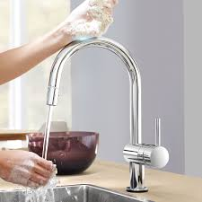 grohe k7 kitchen faucet kitchen grohe kitchen faucet with clean lines and cylindrical