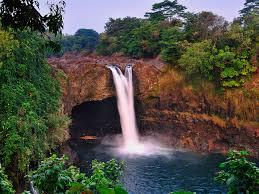rainbow falls wallpaper waterfalls nature wallpapers in jpg format