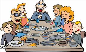 meals clipart dinner u really at thanksgiving xtras at family
