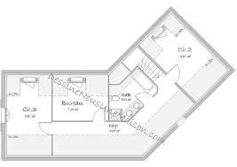 plan de maison en l avec 4 chambres plans de maisons individuelles avec 4 chambres