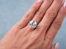 2 carat ring engagement rings 2 carat diamond s 1 solitaire engagement ring 1 2