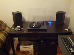 just moved quite enjoy my little setup in this corner of my