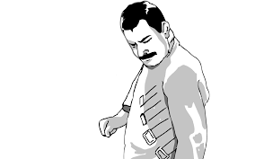 Freddie Mercury Meme - freddie mercury meme so close walldevil