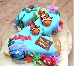 46 best nemo u0026 dory cake ideas images on pinterest birthday