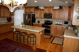 Golden Oak Kitchen Cabinets by Furniture Traditional Kitchen Design With Oak Kitchen Cabinets