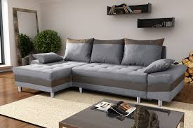 canapé d angle taupe canapé d angle convertible contemporain en tissu gris taupe
