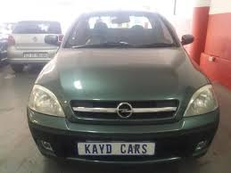 opel indonesia 2008 opel corsa utility bakkie 1 4 sport 85000km with canopy