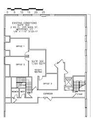 office block floor plans office space archives leifer properties