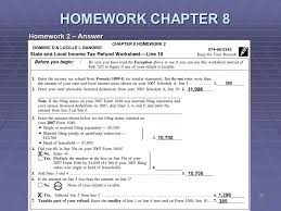 7 1 tax tables worksheets and schedules answers liberty tax service online basic income tax course lesson 9 ppt