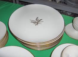 61 pc set vintage lenox china wheat r442 1960 u0027s ebay