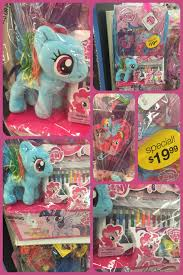 my pony easter basket mlp my pony kmart easter basket set by krazykari on