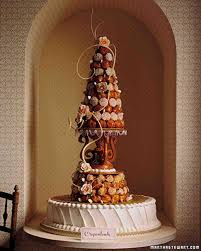 brown wedding cakes martha stewart weddings