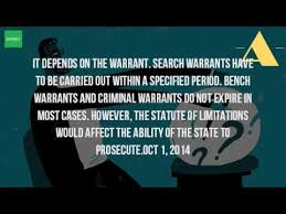 How Does A Bench Warrant Work Do Warrants Expire After 7 Years Youtube
