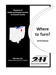 Where To Turn March 2010 Complete Directory Akron Employment