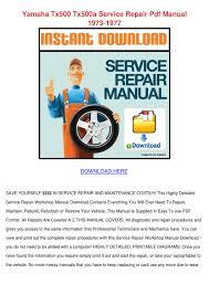 repair and maintenance manuals