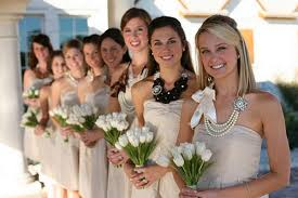 bridesmaids accessories top bridesmaid dress trends for 2013 bold accessories such as