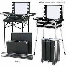 Portable Vanity Table Best 25 Makeup Box Case Ideas On Pinterest Diy Makeup Gift Bag