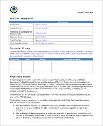 corrective action plan template corrective action plan template