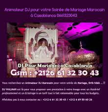 prix dj mariage animateur dj casablanca 0661323043