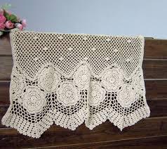 Crochet Lace Curtain Pattern 52 Best Crochet Curtain U0026 Valance Ideas Images On Pinterest