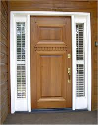 interior exterior remarkable brown modern entry door design idea