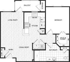 floor plans chelsea senior community one bedroom one bath 781 sq ft