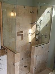 Tile Bathroom Walls by 164 Best Corner Shower For Small Bathroom Images On Pinterest