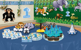 1st birthday party themes for boys jungle birthday party ideas partycheap