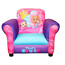 bubble guppies u0027s nice deluxe upholstered chair harmony