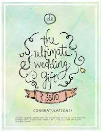 wedding gift card amount the ultimate wedding gift voucher olie