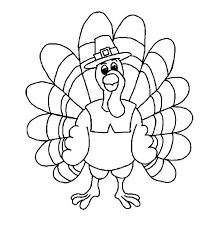 happy thanksgiving turkeys to color free printable coloring pictures