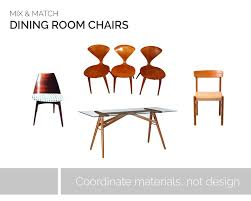 mixing dining room chairs how to mix u0026 match dining room chairs bubbly design co