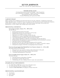 Sample Of Sales Representative Resume by Resume Sales Representative Wa