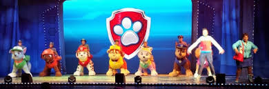 attending paw patrol live daughter cane mighty