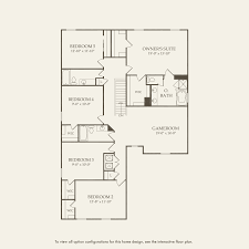 Second Empire Floor Plans Nautilus At Emerson Park At Ave Maria In Ave Maria Florida Pulte