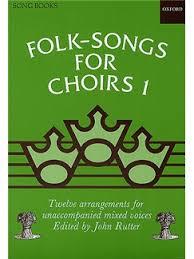 folk songs for choirs book 1 choral sheet sheet