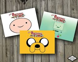 7 best adventure time birthday invitations and party supplies
