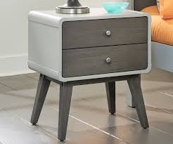 east end nightstand grey finish 7101 771 ne kids furniture
