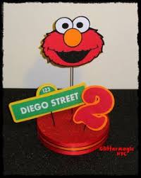 Elmo Centerpieces Ideas by Elmo Centerpiece 2 Elmo Birthday Party Decor Cake Topper