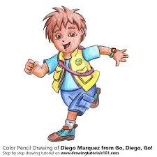 diego marquez diego colored pencils drawing diego
