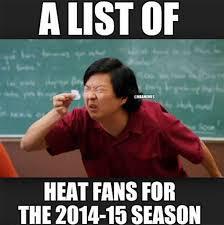 List Of Meme - nba meme team on twitter a list of heat fans http t co nu51qrd5op