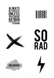 6 free printable posters kids room inspiration