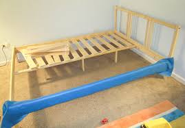 Ikea Hack Bed Frame Ikea Hack How To Upholster A Fjellse Bed Frame Emmerson And