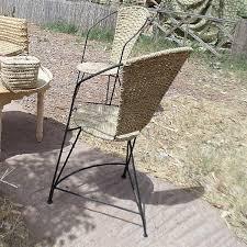 chaises fer forg chaise en rotin et fer forgé artisanat marocain