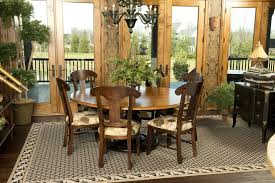Tuscan Dining Room Lovely Tuscan Dining Room Interior Design With Wooden Round Dining